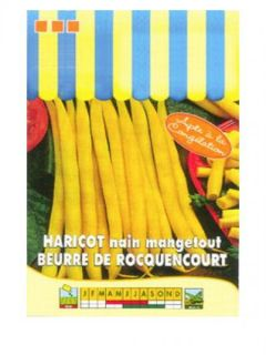 Haricot nain mangetout Beurre de Rocquencourt