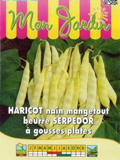 Haricot nain mangetout beurre Serpedor (type sabre)