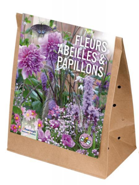 Mélange de printemps pour abeilles et papillons - Autour du violet