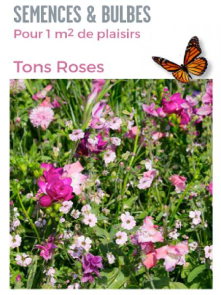 Mélange de bulbes 'Nuances de rose'