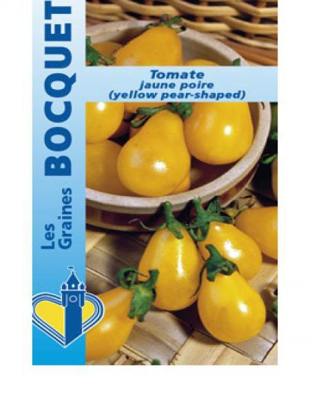 Tomate cerise jaune en poire