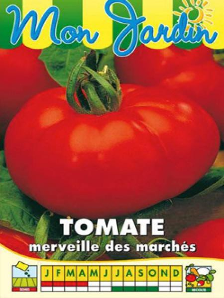 Tomate 'Merveille des Marchés'
